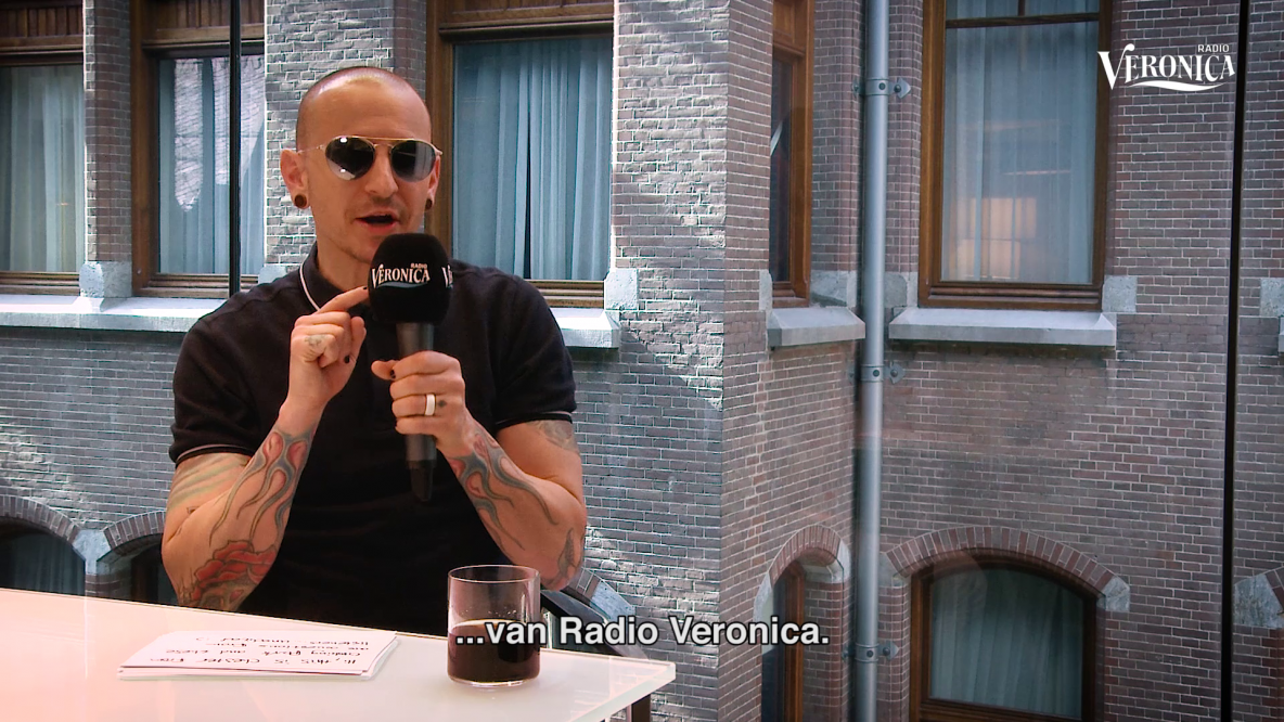 Interview met Linkin Park zanger Chester Bennington - Radio Veronica 2017